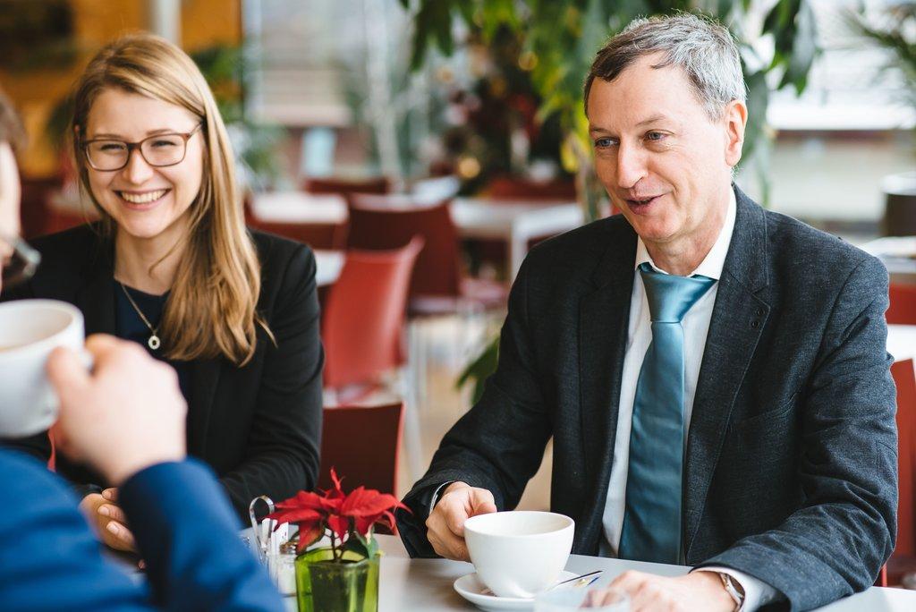 Rechtsanwalt Wolfgang Kiechl und Rechtsanwaltsanwärterin Carina Koplenig