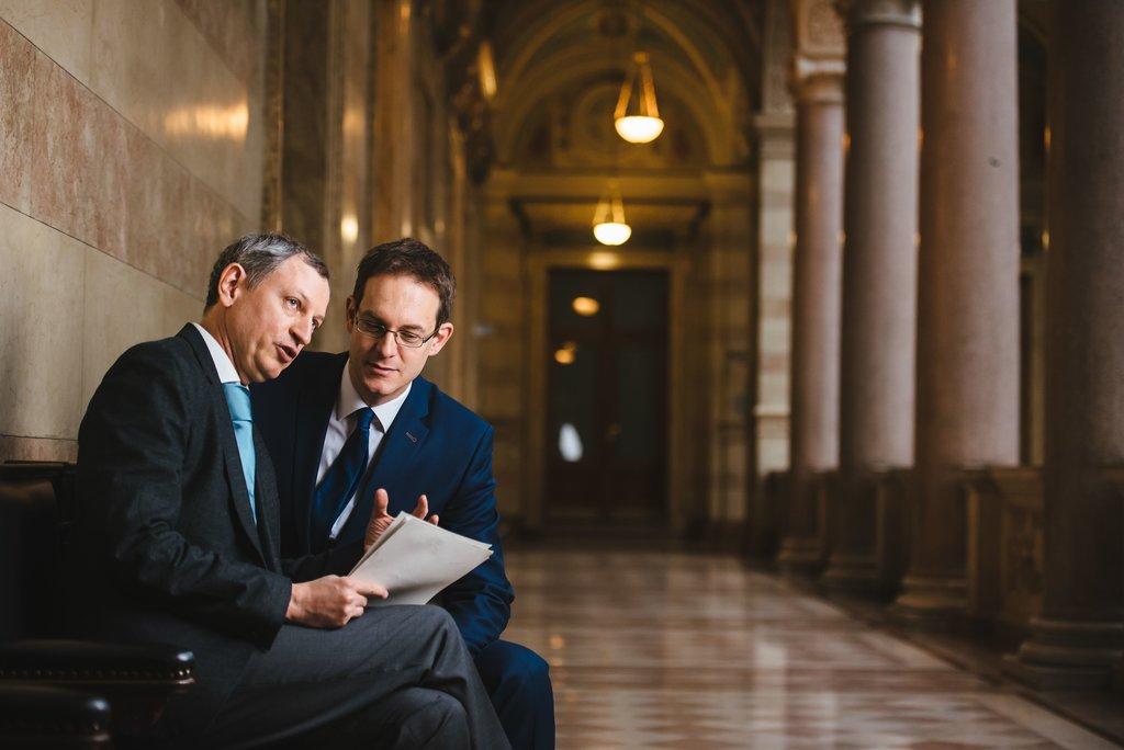 Rechtsanwälte Wolfgang Kiechl und Mario Schaffer in Wien