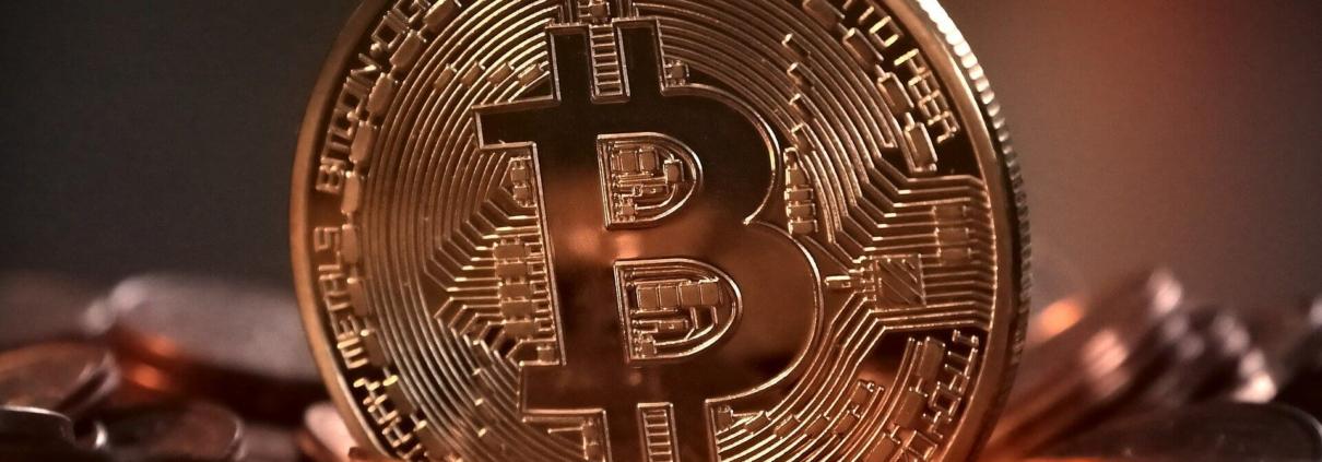 Symbolbild von Bitcoins